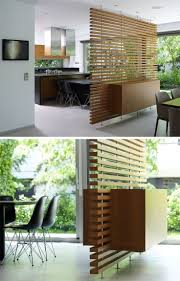 room partition furniture. this slatted wooden room divider has a builtin cabinet partition furniture c