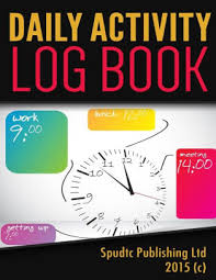 Daily Activity Log Book By Spudtc Publishing Ltd Paperback Barnes