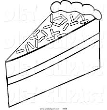 slice of cake clipart black and white.  And Cake20slice20clipart20black20and20white Inside Slice Of Cake Clipart Black And White E
