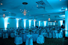 tiffany blue wedding uplighting hilton fairfax garden inn va blue wedding uplighting
