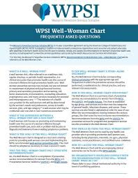 Womens Preventive Health Recommendations Faqs Womens