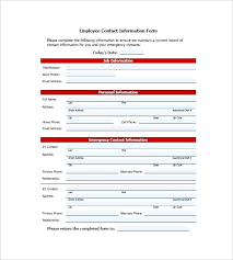 Sample Employee Contact List Template Printable Address Book Word