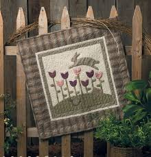 Primitive Quilts and Projects Magazine & Over the Top Pattern by Kay Harmon Adamdwight.com