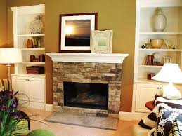 image of indoor prefab gas fireplaces