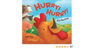 Amazon | Hurry! Hurry! | Bunting, Eve, Mack, Jeff | Easter