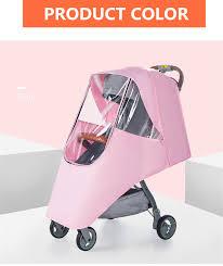 <b>Baby Stroller Accessories</b> Universal Waterproof <b>Rain Cover</b> Wind ...