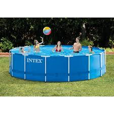 intex ultra frame above ground pools. Beautiful Frame Intex 15u0027 X 48 Inside Ultra Frame Above Ground Pools A