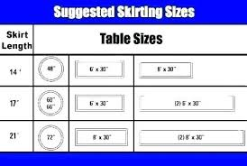 Table Chair Height Chart Table Measurements Chart Surp2018 Co