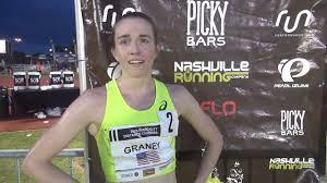 FloTrack - Elizabeth Graney after getting the Olympic...