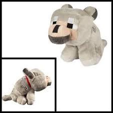 baby wolf minecraft plush. Contemporary Wolf Image Is Loading MinecraftBabyWolfSoftPlushFigureKidsCute To Baby Wolf Minecraft Plush