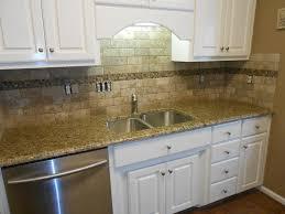 Venetian Gold Granite Kitchen New Venetian Gold Granite Counter Tops Ogee Edge 3x6 Walnut