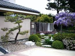 Combining tradition with the modern The wisteria tree stands proudly  overlooking an American-style. Modern Japanese GardenJapanese  GardensJapanese ...
