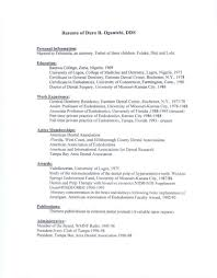 6 Orthodontic Assistant Resume Address Example Orthodontist