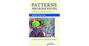 Patterns For College Writing Gorgeous Patterns For College Writing A Rhetorical Reader And Guide Brief