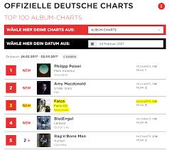 Falco Wieder Auf Platz 1 Der Charts Falco Net