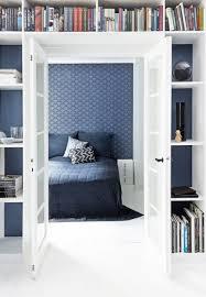 Schone Blaue Tapete Schlafzimmer Kasper