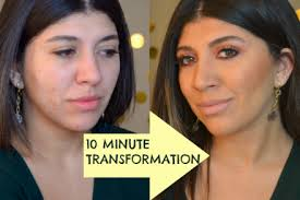 10 minutes transformation timer is on video