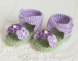 Free Crochet Patterns For Baby Sandals