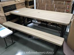 round with swing out table exquisite folding picnic costco lifetime plastic beautiful of folding picnic table costco 2
