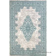 modern style rugs new royal traditional grey duck egg blue antique look home floor rug 160x230cm b06x96zf8s