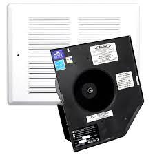 sensing bathroom fan quiet: air king  cfm fire rated humidity sensing exhaust fan frakh