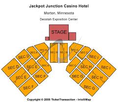 Grand Casino Hinckley Event Center Seating Chart