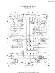 auto wiring diagram dodge daytona shelby z fuse block 1987 dodge daytona shelby z fuse block