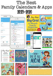 Editable 2015 2020 Calendar The Best Family Calendars For 2019 2020 Momof6