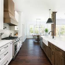 Superb Huge Farmhouse Open Concept Kitchen Inspiration   Open Concept Kitchen    Huge Farmhouse Galley Dark Wood