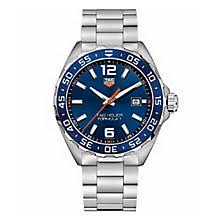 tag heuer watches quality swiss watches ernest jones watches tag heuer f1 men s stainless steel bracelet watch product number 5009480