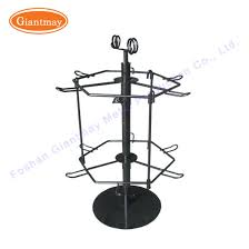 Keychain Display Stand Mesmerizing China Supermarket Metal Wire Rack Rotating Counter Keychain Holder