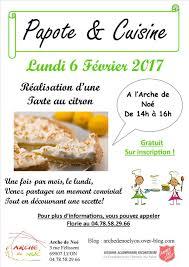 Atelier De Cuisine De Larche Pour Adulte Sur Inscription Et C