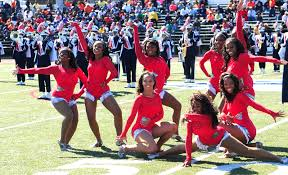 howard university bands pep ing concert  flag1 dm1 dancers