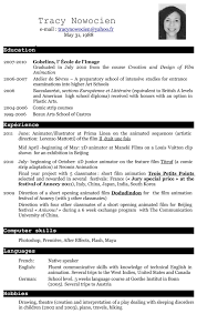 resume in english resume in english 2150