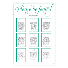 Personalized Seating Chart Personalized Seating Chart Kit With Expressions Design