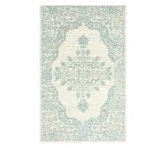 aqua and grey rug tufted gray