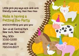moo invitations petting zoo birthday party invitations candles and favors