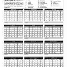 Absentee Calendar Absentee Calendar Whitneysmith Company