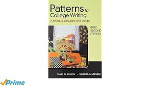Patterns For College Writing Pdf Impressive Patterns For College Writing Brief Second Edition Laurie G