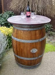 Wine Barrel Kitchen Table Wine Barrel Furniture Diy Recycled Home Furniture