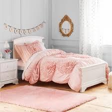 better homes and gardens kids ruffled flowers bedding comforter set