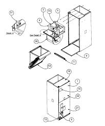 Payne model pf1mnc030000aaaa air handler indoor blower evap genuine parts