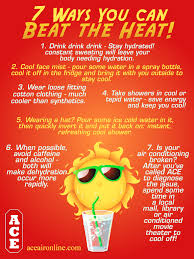7 Ways You Can Beat the Heat « ACE Air Conditioning \u0026 Heating ...