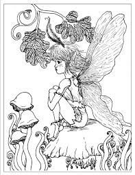 Fantasy Coloring Pages For Adults Printable Free Coloring Books