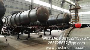 Sulfuric Acid Storage Tank Design Sulfuric Acid Tank Semi Trailer Specialized Designed For