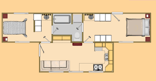 Shipping Container Floor Plans Dwg