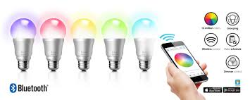 smartphone controlled lighting. ILuv Introduces New Rainbow7 Smartphone-Controlled Multicolor LED Light Bulb | Business Wire Smartphone Controlled Lighting