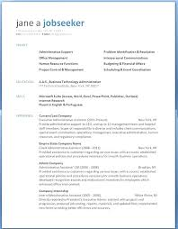Resume Format For Word Word Resume Templates For Resume Format Free ...