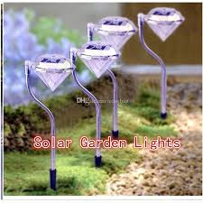 2019 solar led garden lights outdoor diamond stake lights landscape lighting changing stainless steel pathway driveway lights 0145 from cosybag