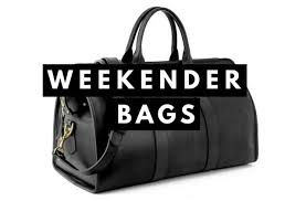 Weekender Bag or Duffle Bag - Best Leather   Canvas Options